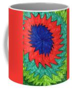 Floral Spin Coffee Mug