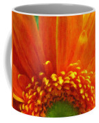 Floral Sunrise - Digital Painting Effect Coffee Mug