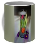 Floral Table Piece Coffee Mug