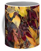 Floral Tiles Coffee Mug