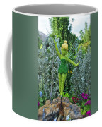Floral Tinker Bell Coffee Mug