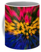 Floral Triple Zoom Coffee Mug