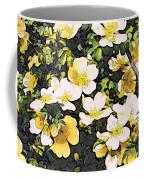 Floral Yellow Coffee Mug