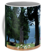 Floral's At The Lake  Coffee Mug