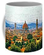 Florence Watercolor Coffee Mug