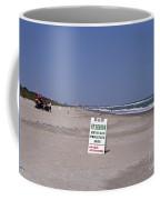 Florida At Melbourne Beach Coffee Mug