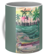 Florida City-skyline2 Coffee Mug