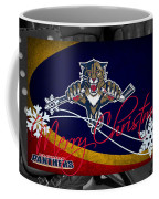 Florida Panthers Christmas Coffee Mug