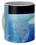 Florida Peninsula, Discovery Shuttle Coffee Mug