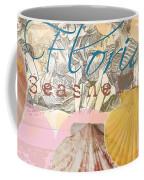Florida Seashells Collage Coffee Mug