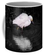 Florida Snow In Black And White Coffee Mug