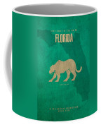 Florida State Facts Minimalist Movie Poster Art  Coffee Mug