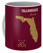 Florida State University Seminoles Tallahassee Florida Town State Map Poster Series No 039 Coffee Mug