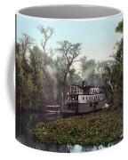 Florida Steamboat, C1902 Coffee Mug