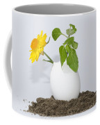 Flower And Egg Coffee Mug