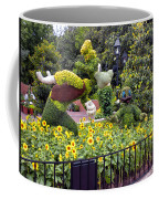 Flower And Garden Signage Walt Disney World Coffee Mug
