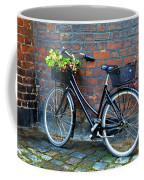 Flower Basket Bicycle Coffee Mug