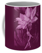 Flower Bomb One Reticulation Coffee Mug
