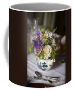 Flower Bouquet In A Teapot Coffee Mug