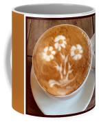 Flower Bouquet Latte Art Coffee Mug