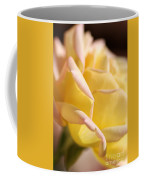 Flower-bright Yellow-rose With Pink Coffee Mug