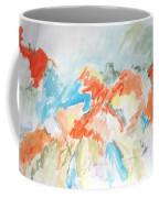 Flower Bursts Coffee Mug