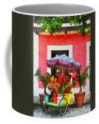 Flower Cart San Juan Puerto Rico Coffee Mug