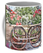 Flower Cart Coffee Mug