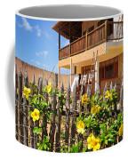 Flower Fence For A Beach Loft In Jeri Coffee Mug