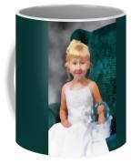 Watercolor Flower Girl Coffee Mug
