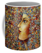 Flower Goddess. Coffee Mug