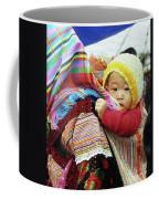 Flower Hmong Baby 04 Coffee Mug