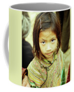 Flower Hmong Girl 02 Coffee Mug