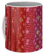 Flower Hmong Velvet Coffee Mug