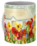 Flower House Coffee Mug