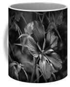 Flower In B-w Coffee Mug