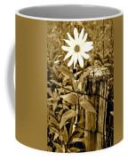 Flower In Sepia Coffee Mug