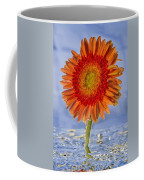 Flower In Water Coffee Mug