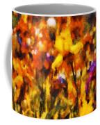 Flower - Iris - Orchestra Coffee Mug by Mike Savad