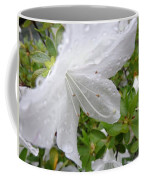 Flower Laced With Rain Drops Coffee Mug