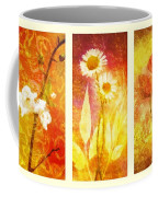 Flower Love Triptic Coffee Mug