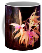 Flower - Orchid - Laelia - Midnight Passion Coffee Mug by Mike Savad