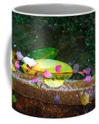 Flower Petals And Leaves Coffee Mug