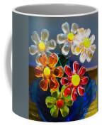 Flower Power Still Life Coffee Mug