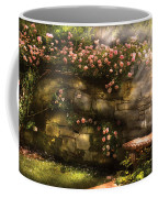 Flower - Rose - In The Rose Garden  Coffee Mug by Mike Savad