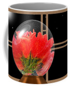 Flower Snow Globe At Window Coffee Mug