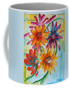 Flower Splash Coffee Mug