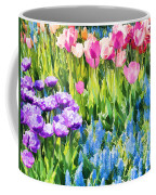 Flower Splash I Coffee Mug