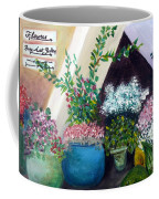 Flower Stand On Worth Ave In Palm Beach Coffee Mug