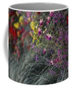 Flower Wall At The Falls Selective Color Coffee Mug
